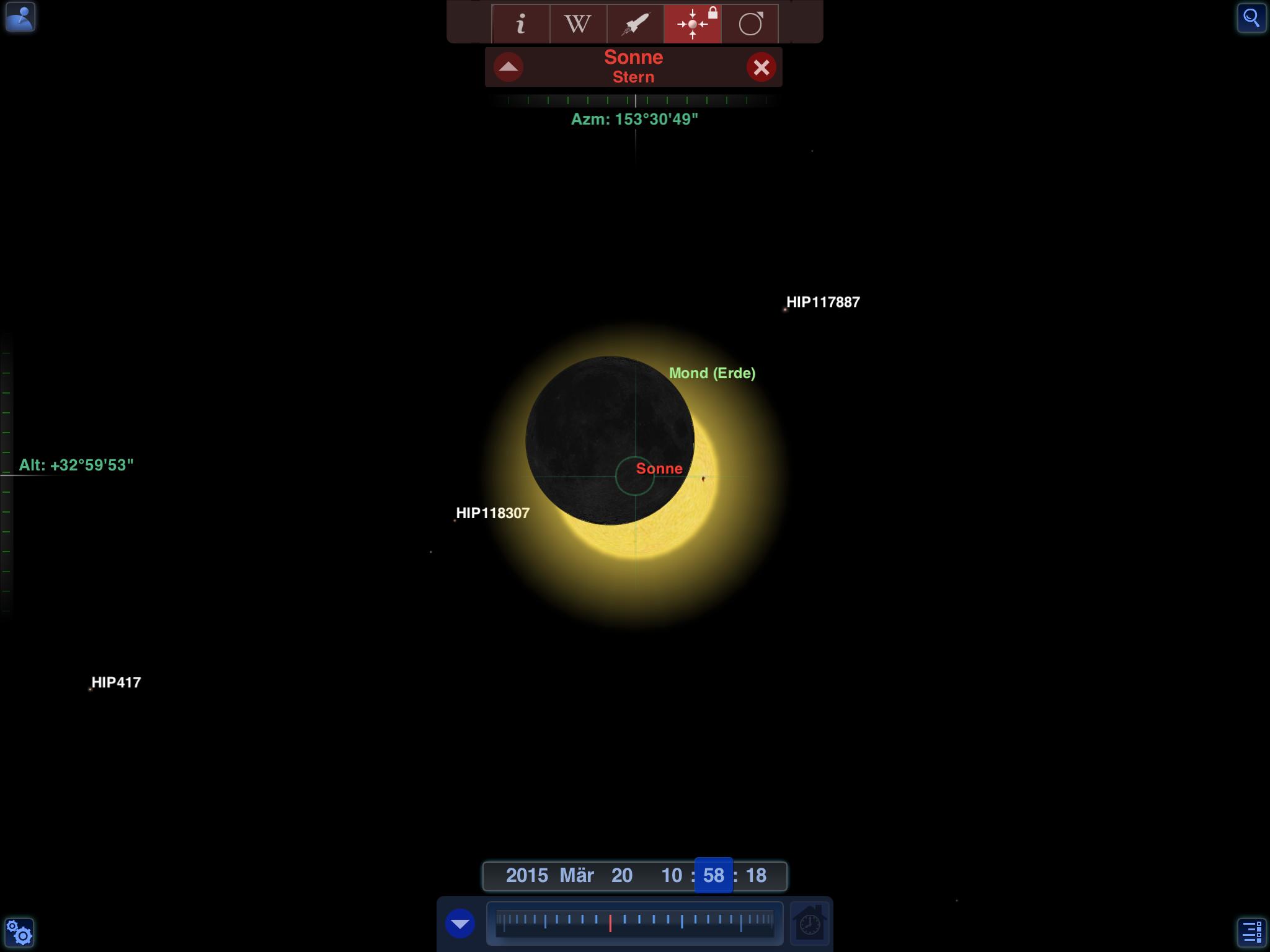 Mond geht wieder