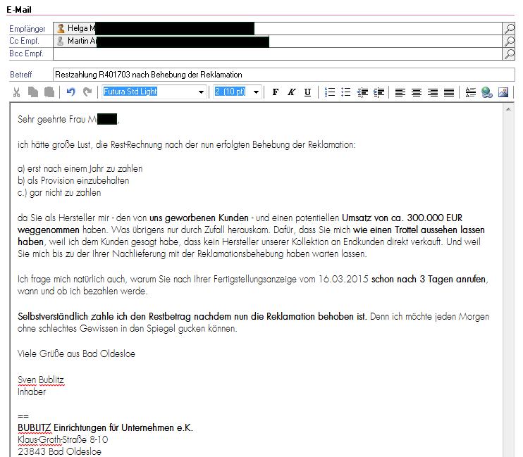Wie ich ca. 300.000 EUR Umsatz verlor – und warum ich trotzdem jeden Morgen ohne schlechtes Gewissen in den Spiegel schauen kann!